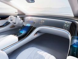 Let's enjoy the futuristic lush interior of Mercedes-Benz EQ Concept [Photos]