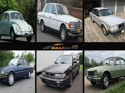 Hottest cars that Nigerian fathers rocked back in the old days