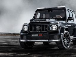 The luxury Mercedes Brabus 12-cylinder off-roader is 4 times costlier than a G63