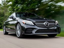 Check full specs of 2019 Mercedes-Benz C300 Coupe with engine enhancement!