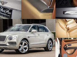 Cowboy spec! Check out the ultra-luxury Bentley Bentayga Stetson exclusively made for Texans