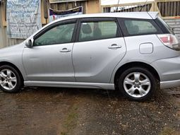 Used Toyota Matrix 2007 Tokunbo Silver Colour for Sale