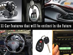 These common car features are likely to be extinct in the near future