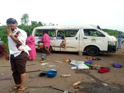 At least 10 wedding guests die in Ekiti car crash