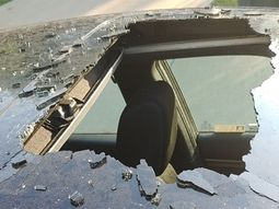 Shampoo can explodes inside Honda Civic, ripping massive hole in its sunroof