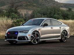 See a ₦74millon bulletproof Audi RS7 withstands multiple gunshots during safety test!