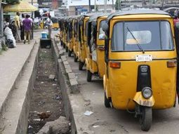 This Keke NAPEP broke its all limits, carrying bulky load in Delta State