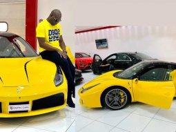 Mompha acquires ₦90 million Ferrari 488 Spider 2 days after buying ₦180 million Rolls Royce Wraith Eagle VIII