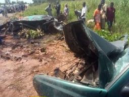 5 persons including military personnel burnt to death in Kaduna auto crash