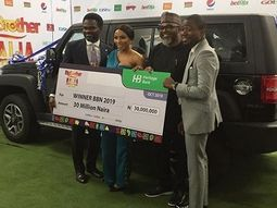 BBN 2019 winner receives IVM Innoson SUV, becomes Innoson brand ambassador