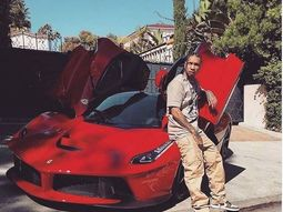 Kylie Jenner's ex, rapper Tyga, acquires a N451 million Ferrari LaFerrari