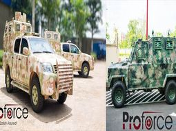 Nigerian auto company PROFORCE produces Armored vehicles for governments across Africa