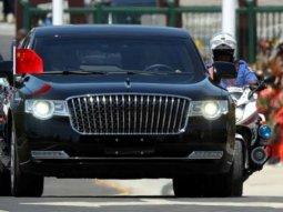 Chinese President armored Hongqi: