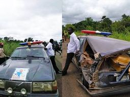 Ghastly accident wrecks Hearse and the coffin inside [Photos]