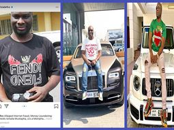 Mompha, who flaunts ₦600m cars on Insta, was arrested for alleged frauds & money laundering