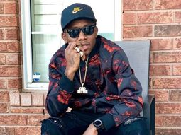 See reaction of Small Doctor as his Porsche is bashed at Lagos Airport!