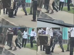 War of the traffic wardens! VIO and police officers beef over car inspections in Lagos