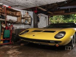 Abandoned 1969 Lamborghini Miura found in garage, auctioned for ₦482.5 million