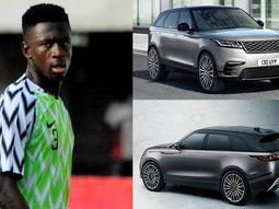 Super Eagles star, Jamilu Collins shows off his ₦46m Range Rover Velar