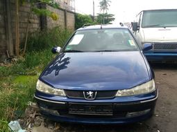 Peugeot 406 Wagon Foreign Used 1999 Model Blue