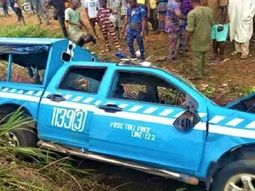 FRSC officer & 2 others died after he chased a truck in Ibadan