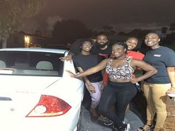 Friends spent 8 months saving to buy their bestie a Honda car for her birthday