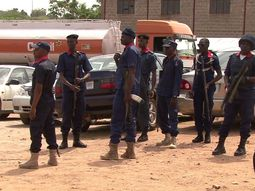 Drivers in Benin protest, claiming an NSCDC official stabs their member