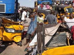 Trailer killed 20 people in Adamawa while fleeing from police