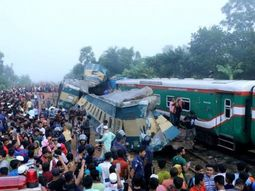 16 dead, 58 others injured after 2 Bangladesh trains collided into each other