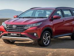 Toyota promotes Toyota Rush and Toyota Hilux at 2019 Abuja Motor Fair