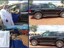 Bishop Sam Zuga gives Kogi king a Lincoln SUV, promises to giveaway 1000 cars by 2021