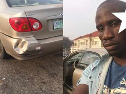 Police officer allegedly hits car & assaultsits owner for demanding apology