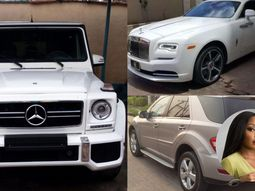 Born to royalty, Rita Dominic cars are peak of fame & luxury