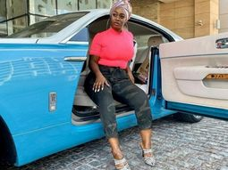 Uriel of BBN poses with unknown Rolls-Royce Wraith in Dubai