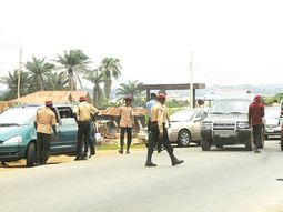 FRSC officials beat policeman for trying to protect traffic defaulter in Lagos