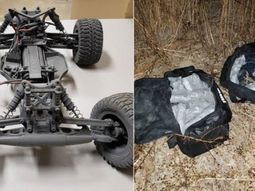Remote-controlled car is used by US teen for smuggling drugs across border