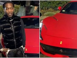 Offset, Cardi B hubby buys himself a ₦144 million Ferrari to celebrate Grammy nomination