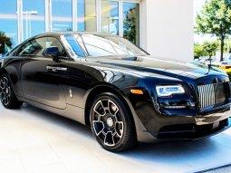 Luxury Rolls-Royce Black Badge Ghost on display at Lagos Golf Tournament