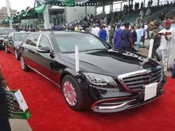 Have a look at President Buhari's official car