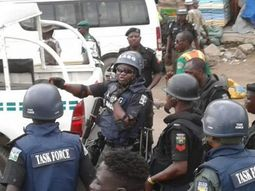 Lagos Okada riders attack task force officials, damage government vehicles in violent protest