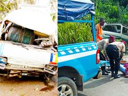 Tire burst causes truck to somersault, leaving 1 dead & 2 injured on Lagos-Abeokuta