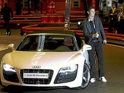 Popular footballers in the world who drive Audi