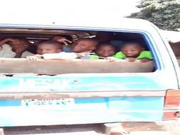 Video of kids posing in school bus without rear windshield causes heated controversies