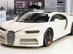 Bugattiand Hermes co-operated to make this stunning Chiron (Photos)