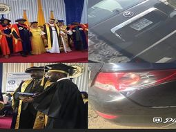 Goodluck Jonathan's security threatened to shoot man after bashing his car