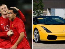 Rooney gifted Carlos Tevez a Lamborghini after Man-U teammates mocked his Audi club car