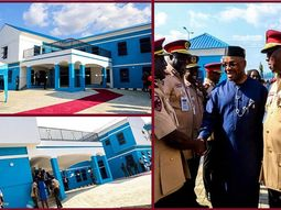 Photos from the Inauguration ceremony of the new colorful Uyo FRSC office