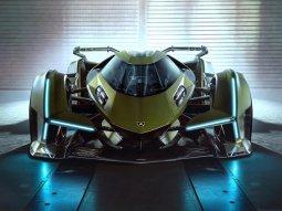 Lamborghini unveiled its jet fighter - 2019 Lambo V12 Vision Gran Turismo Concept