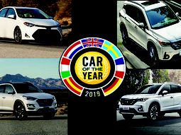 Toyota Corolla, Hyundai Tucson & GAC GS4 battles for Nigeria's Car of the Year 2019