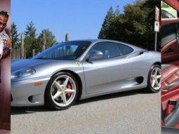 Nigerian Burna Boy buys a ₦87m Tokunbo Ferrari 458 Italia